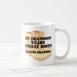 Marine Grandma Grandson wears DCB Coffee Mug