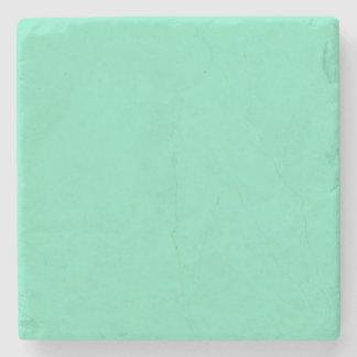 Marine Green Blue Aqua Turquoise 2015 Color Trend Stone Coaster