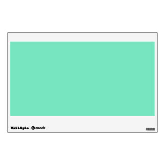 Marine Green Blue Aqua Turquoise 2015 Color Trend Wall Decal