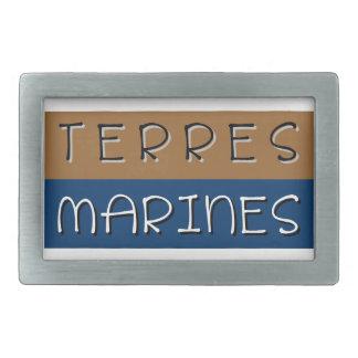 Marine grounds belt buckle