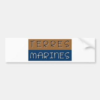 Marine grounds bumper sticker