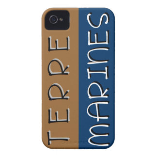 Marine grounds iPhone 4 cover