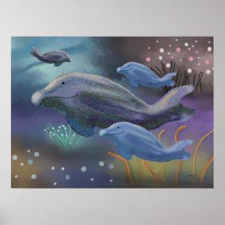 Marine Habitat Print