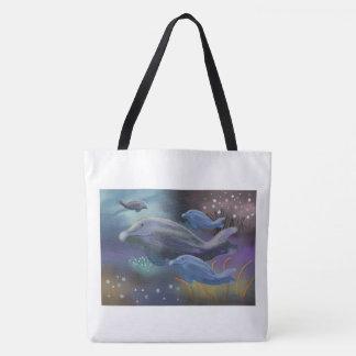 Marine Habitat Tote Bag
