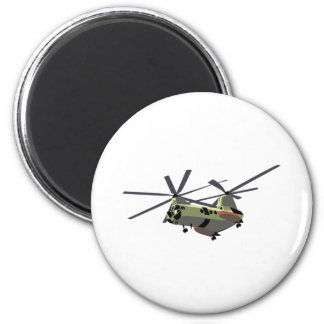 Marine Helicopter Magnet