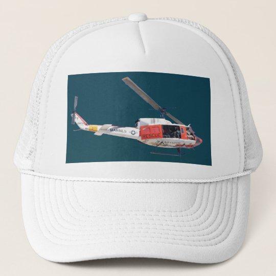 Marine Helicopter Trucker Hat