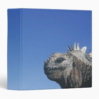 Marine Iguana Vinyl Binder