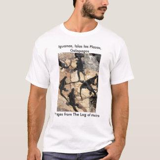 Marine Iguanas, Islas las Plazas, Galapagos T-Shirt