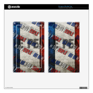 Marine Le Pen Decals For Kindle Fire
