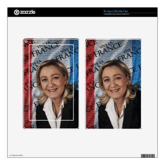 Marine Le Pen Skins For Kindle Fire
