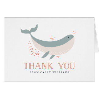 Marine Life Baby Shower Card