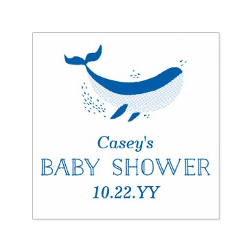 Beach Themed Marine Life Baby Shower Stamp