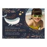 Marine Life Birthday Card