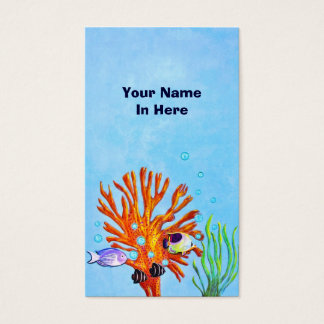 Marine Life Business Card