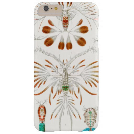 Marine Life Crustaceans, Copepoda by Ernst Haeckel Barely There iPhone 6 Plus Case