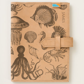 Marine Life Custom Leather Journal