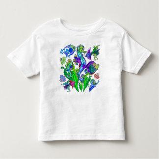 Marine Life Exotic Fishes & SeaHorses Toddler T-shirt