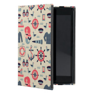 Marine Life Pattern Case For iPad Mini