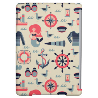 Marine Life Pattern Cover For iPad Air