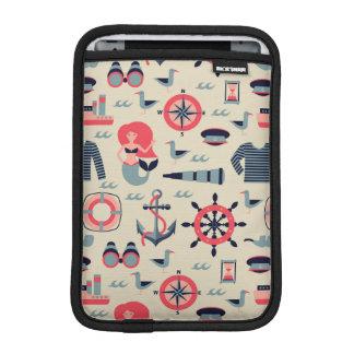 Marine Life Pattern iPad Mini Sleeve