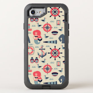 Marine Life Pattern OtterBox Defender iPhone 7 Case