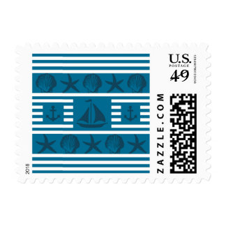 Marine life postage
