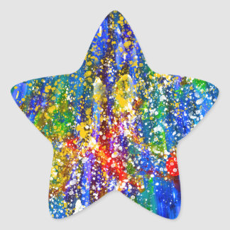 Marine Life Star Sticker