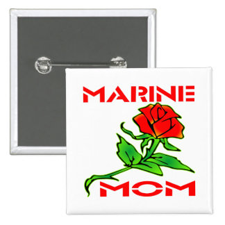 Marine Mom Buttons
