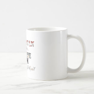 Marine Mom Grace of God Coffee Mug