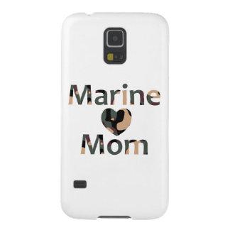 Marine Mom Heart Camo Case For Galaxy S5