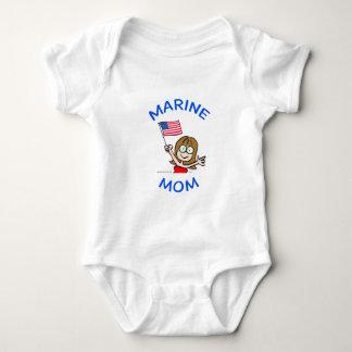 marine mom marines corps patriotism baby bodysuit