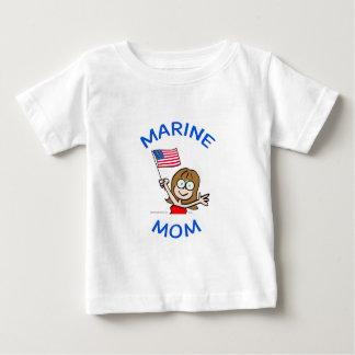 marine mom marines corps patriotism baby T-Shirt