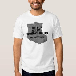 Marine Mom Son CB T-shirt