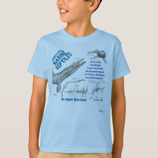 Marine My Inner Dinosaur Kids Shirt Greg Paul