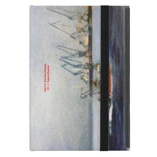 Marine navy//Marinates iPad Mini Cover