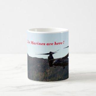 Marine Osprey mug