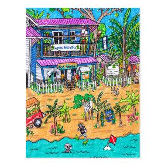 Marine park Office Card Postcard