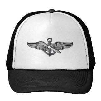 marine pilot wings trucker hat