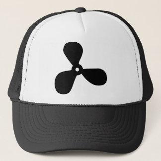 marine propeller screw trucker hat