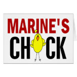 MARINE'S CHICK CARDS