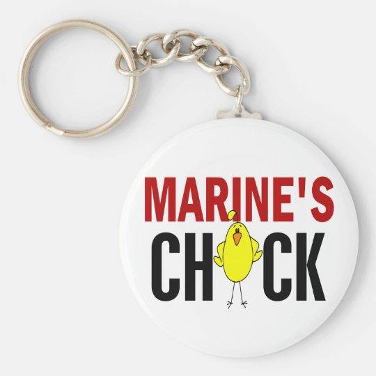 MARINE'S CHICK KEYCHAIN