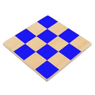 Marine Sign Flag Alphabet Letter N November Symbol Wooden Coaster