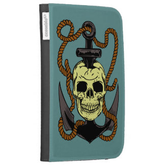 Marine Skull Tattoo Kindle 3G Case