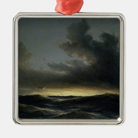 Marine Solitude, 1852 Metal Ornament
