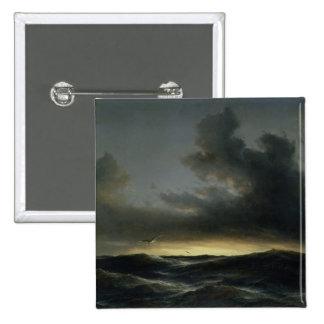 Marine Solitude, 1852 Pinback Button
