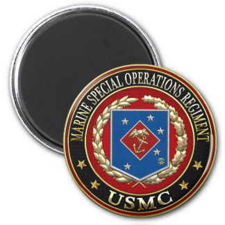 Marine Special Operations Regiment (MSOR) [3D] 2 Inch Round Magnet