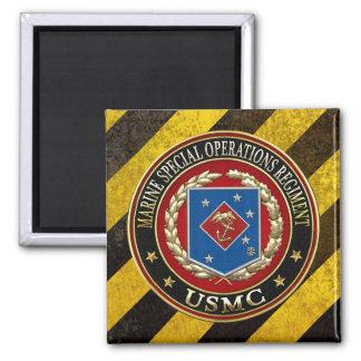 Marine Special Operations Regiment (MSOR) [3D] 2 Inch Square Magnet