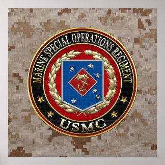 Marine Special Operations Regiment (MSOR) [3D] Poster