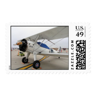 Marine Stearman Postage Stamps