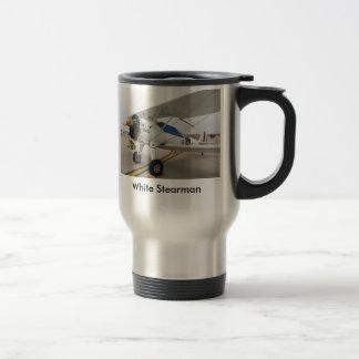 Marine Stearman, White Stearman Travel Mug